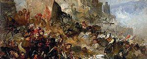 Ramon Martí Alsina - Image: El setge de Girona de 1809