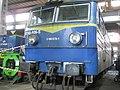 Elektrowóz ET42-026 w lokomotywowni w Poznaniu 24 listopada 2019.jpg