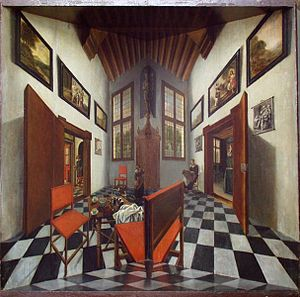 Pieter Janssens Elinga - Perspective box, Museum Bredius.