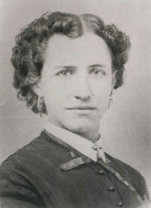 Elizabeth Jane Gardner - Photograph of Gardner, ca 1860