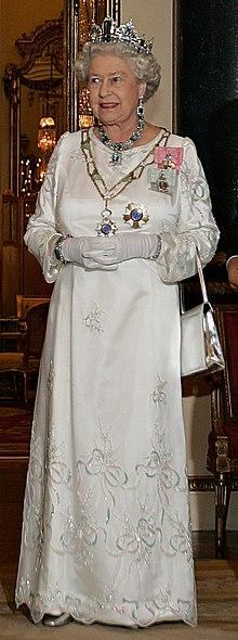 Elisabetta II a Buckingham Palace