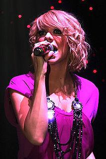 Liz McClarnon English singer, songwriter