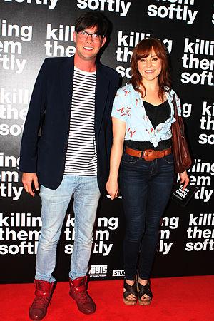 Toby Schmitz - Image: Ella Scott Lynch & Toby Schmitz 2012