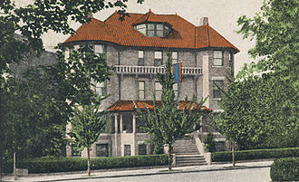 Armenia–United States relations - Embassy of the Republic of Armenia in Washington in 1918