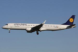 Embraer E-Jet family - E195 of Lufthansa CityLine