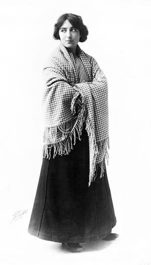 Hindle Wakes (play) - Emélie Polini as Fanny Hawthorn in the Broadway production of Hindle Wakes (1912)