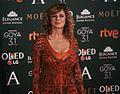 Emma Suárez en la alfombra roja de los Premios Goya 2017.jpg