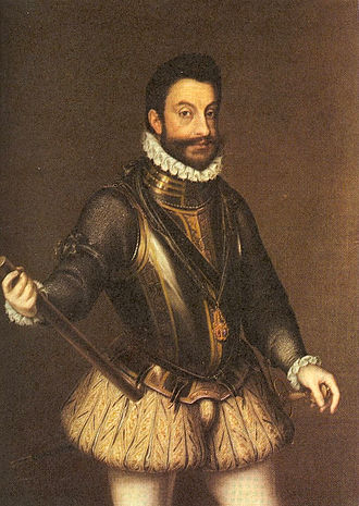 Emmanuel Philibert, Duke of Savoy - Image: Emmanuel Philibert of Savoy (1580)