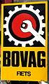 Enamel advertising sign, BOVAG fiets.JPG