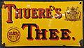 Enamel advertising sign, Thueré's Thee, Torpedo Email. Frankfurter Emailwerke Neu-Jsenburg. Frankfurter Emailwere.JPG