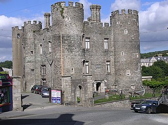 Enniscorthy - The castle in Enniscorthy, Co. Wexford