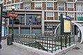 Entrée Métro Mairie St Ouen St Ouen Seine St Denis 8.jpg