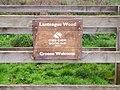 Entrance to Lanteague Wood, Llanteg - geograph.org.uk - 1011266.jpg