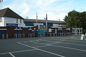 Worcester City F.C. - Entrance to St George's Lane