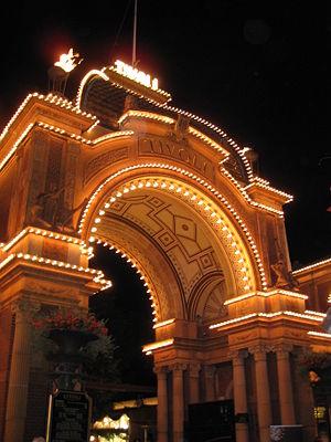 Tivoli Gardens - Image: Entrancetotivoli