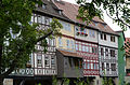 Erfurt, Krämerbrücke, aussen, Nordseite-011.jpg