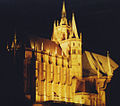 Erfurt cathedral at night.jpg