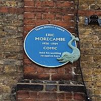 Eric Morecambe blue plaque Margate Kent England.jpg