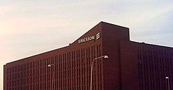 Siedziba Ericsson w Sztockholmie.
