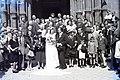Esküvői csoportkép, 1946 Budapest. Fortepan 105583.jpg