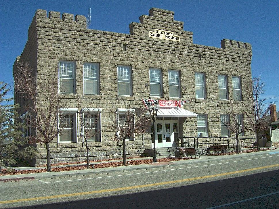 Esmeralda County, Nevada courthouse