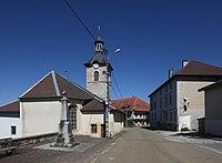 Esserval-Tartre, église et mairie - img 43869.jpg