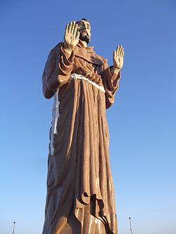 Estátua Gigante de São Francisco, Canindé, Ceará, Brasil .JPG