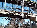 Estación Turdera - Puente y tendido eléctrico.JPG