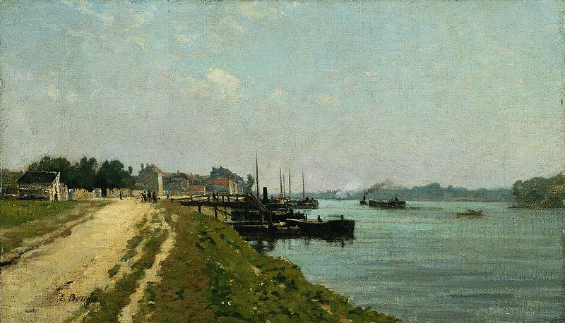 File:Eugène Boudin - Bords de la Seine.jpg