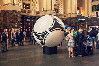 UEFA Euro 2012 - Monumental Adidas Tango 12 in Kiev