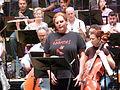 Eva-Maria Westbroek, Ensaio Tristán e Isolda, Palacio da ópera, A Coruña 16.JPG