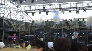Every Single Day (band) - Busan Rock Festival, on 7 August 2015