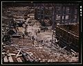 Excavating within the log cofferdam during an early stage of construction 1a35270v.jpg