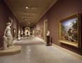 Exhibit hallway at the National Museum of American Art, Washington, D.C LCCN2011634301.tif