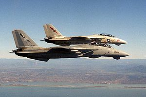 F-14As VF-194 in flight near NAS Miramar 1988.JPEG