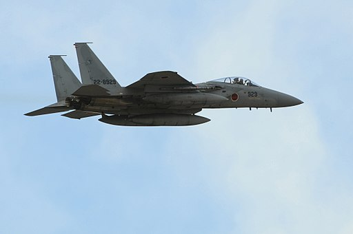 F-15J (929) of 303 Sqn flies over Eielson Air Force Base, -6 Oct. 2009 a