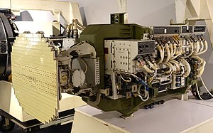 F-16 Flight Test Radar, later designated AN-APG-66, Westinghouse, 1974 - National Electronics Museum - DSC00411.JPG