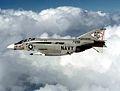 F-4J Phantom of VF-102 in flight c1977.jpg