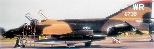81st Training Wing - McDonnell F-4D-28-MC Phantom Serial No. 65-0738 of the 78th Tactical Fighter Squadron, September 1972.   This aircraft was retired to AMARC on 13 June 1990.
