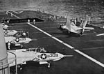 F8F-8Bs of VA-106 on USS Coral Sea (CVA-43) c1956.jpg