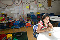 FEMA - 29749 - Red Cross volunteer and shelteree in NJ, photography by Andrea Booher.jpg