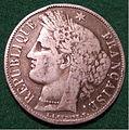FRANCE THIRD REPUBLIC 1851 -FIVE FRANCS b - Flickr - woody1778a.jpg
