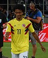 FWC 2018 - Round of 16 - COL v ENG - Photo 100 - Juan Cuadrado (cropped).jpg
