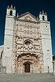 Fachada de la Iglesia conventual de San Pablo de Valladolid.jpg