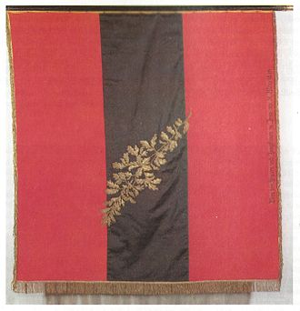 National colours of Germany - Urburschenschaft banner (replica)
