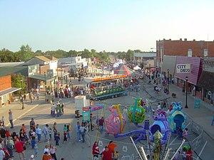Coweta, Oklahoma - Coweta Fall Festival, September 2007, courtesy of Caleb Long