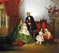 Family portrait in interior by E.Botman (1845).jpg