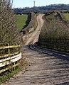 Farm road near Wells - geograph.org.uk - 1844149.jpg