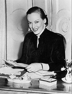 Faye Emerson - Emerson in 1951