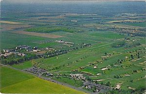Forsgate Country Club - Aerial view of Forsgate Country Club